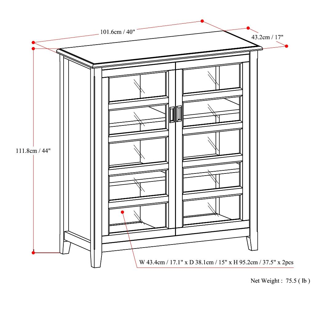 The Burlington Medium Storage Cabinet Was Designed To Blend Gracefully Into  A Variety Of Living And Family Settings. With Its Classic Traditional  Style, ...