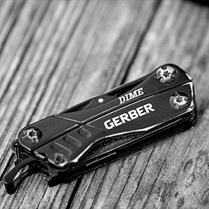 Gerber 30-000469 Dime Mini Multi-Tool Black