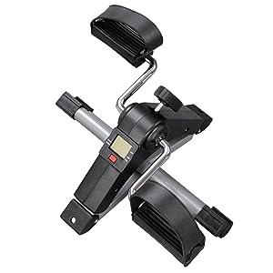 Mini Bicicleta Estática Plegable Vista Superior