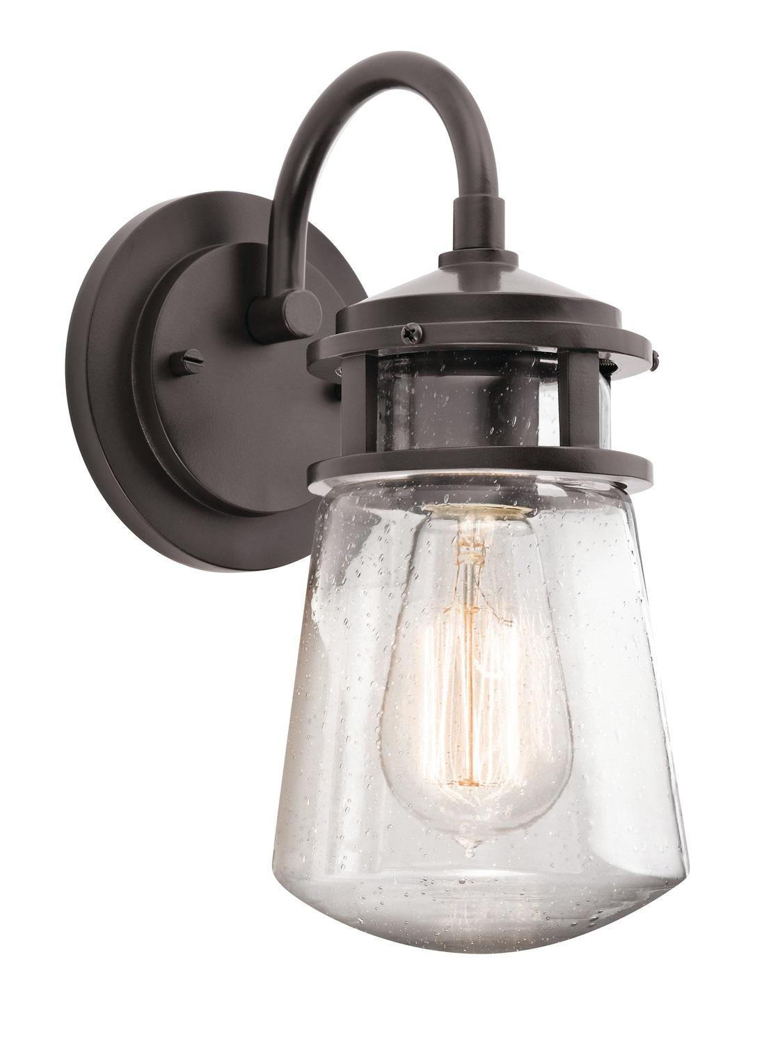 Kichler 49500bktled Lyndon Portable Led Lantern With Built