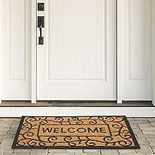 decoir door mats,door mats outside green,coir doormat,coor door mat,mats decorative,cour door mats
