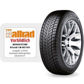 Bridgestone Blizzak Lm 80 Evo 225 55 R18 98v E C 68 Winterreifen Suv Auto