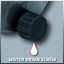 Vis de vidange d'eau