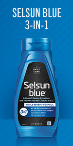 Selsun Blue 3-in-1 Shampoo, Conditioner and Body Wash