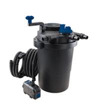 T.I.P Schwarz TFP 15000 UV 13 Teichdruckfilter//Teichau/ßenfilter-mit Verschmutzungsanzeige
