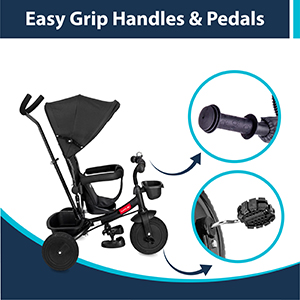Easy Grip Pedals & Handles: