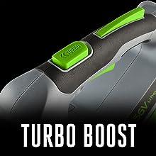 EGO, turbo boost
