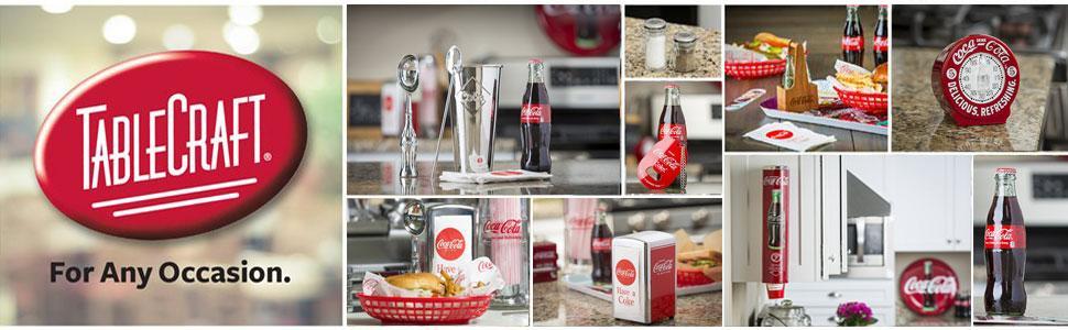b16edb75e5e Amazon.com  TableCraft Coca-Cola Wall Mount Bottle Opener (CC341 ...