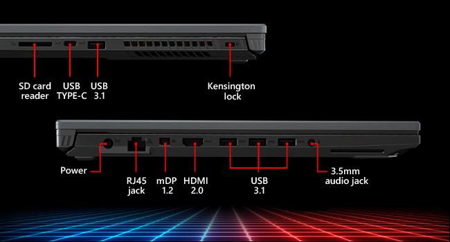 "Asus ROG Strix Scar II Gaming Laptop, 17"" 144Hz IPS-Type Full HD, NVIDIA GeForce RTX 2060 6GB, Intel Core i7-8750H, 16GB DDR4 RAM, 512GB PCIe SSD, RGB ..."