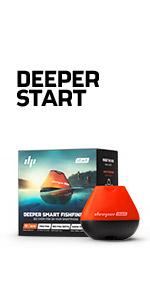 Deeper Pro+ - Buscador de peces (sonar portátil con GPS, sin ...