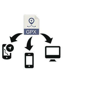 Rother Wanderführer GPS GPX Download