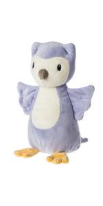 purple owl stuffed animal soft toy