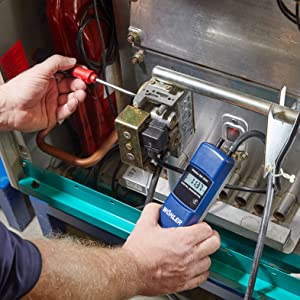 Measuring with the Wohler DM 2000