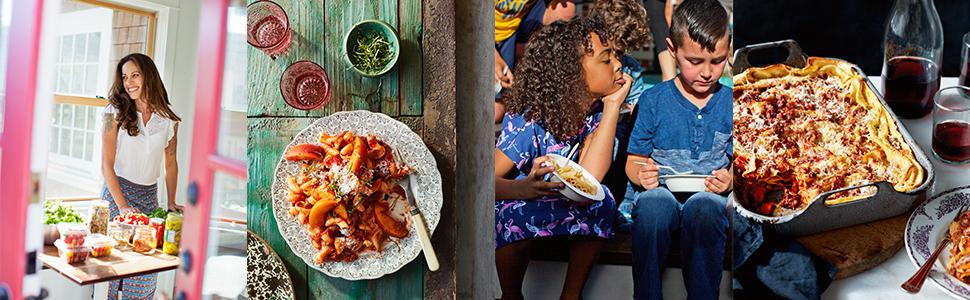 pasta, recipe, kitchen, children, fresh, ingredients, kids, food, wine, cooking, group, healthy