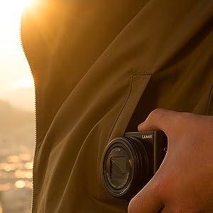 Lumix TZ100 Camera Feature - Small Size