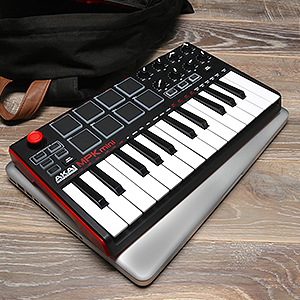 Compact Keyboard and pad controller