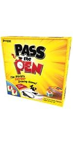 pass, pen, draw
