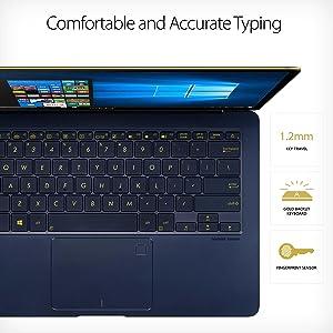 "ASUS ZenBook 3 Deluxe UX490UA 14"" FHD Ultraportable Laptop, Intel Core i7-8550U, Win 10 Pro"