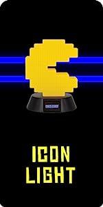 Pac-Man Symbol-Licht.