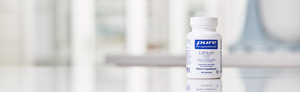 Pure Encapsulations - Lithium (Orotate) 5 mg