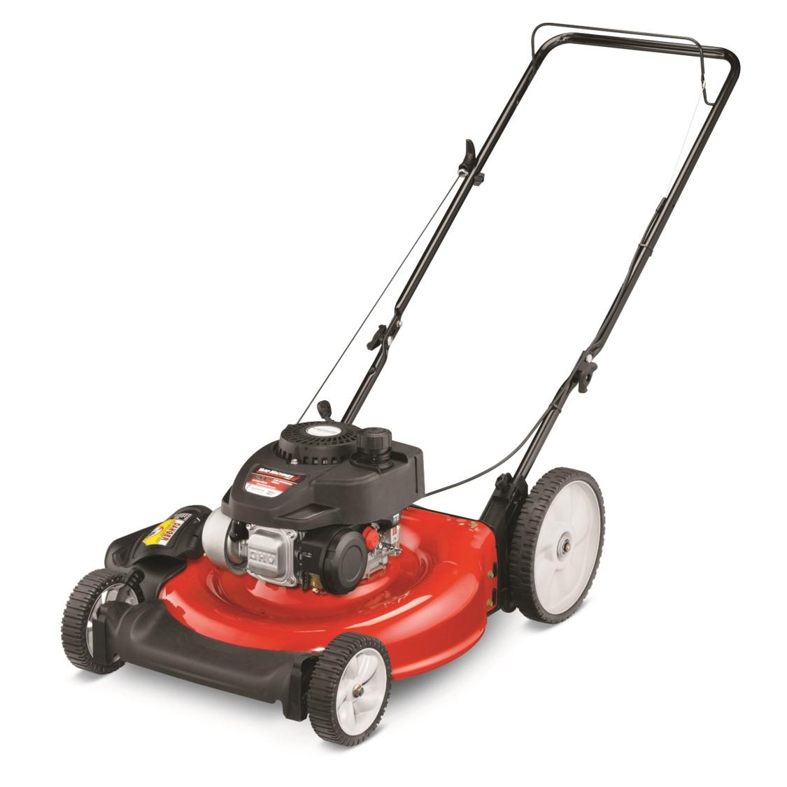 Amazon.com: Yard Machines cortadora de césped 140 cc ...