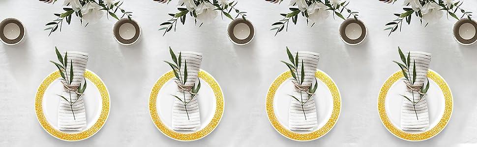 Party Joy Plastic Plates
