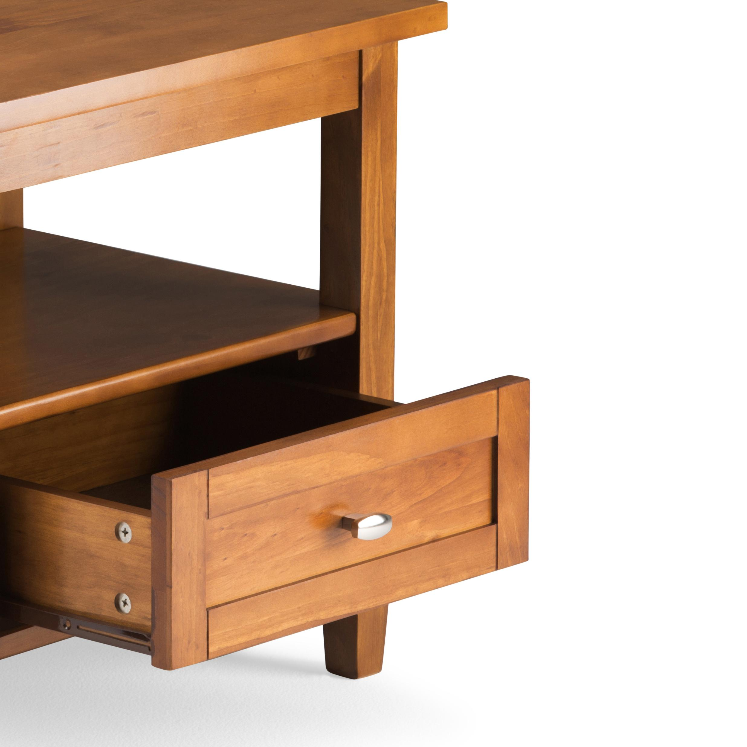Amazon.com: Simpli Home AXWSH002 Warm Shaker Solid Wood 20