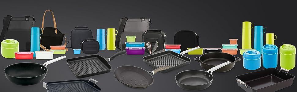 Valira Black - Sartén Premium de 20 cm hecha en España, aluminio fundido con antiadherente reforzado, apta para inducción