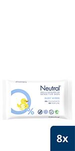 Neutral Baby Billendoekjes
