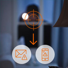 security camera system wireless with motion alerts to mobile, emails with photo
