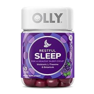 olly,restful sleep,melatonin,sleep aid,sleep gummie,sleep,sleep hormone,calm sleep,relaxing sleep
