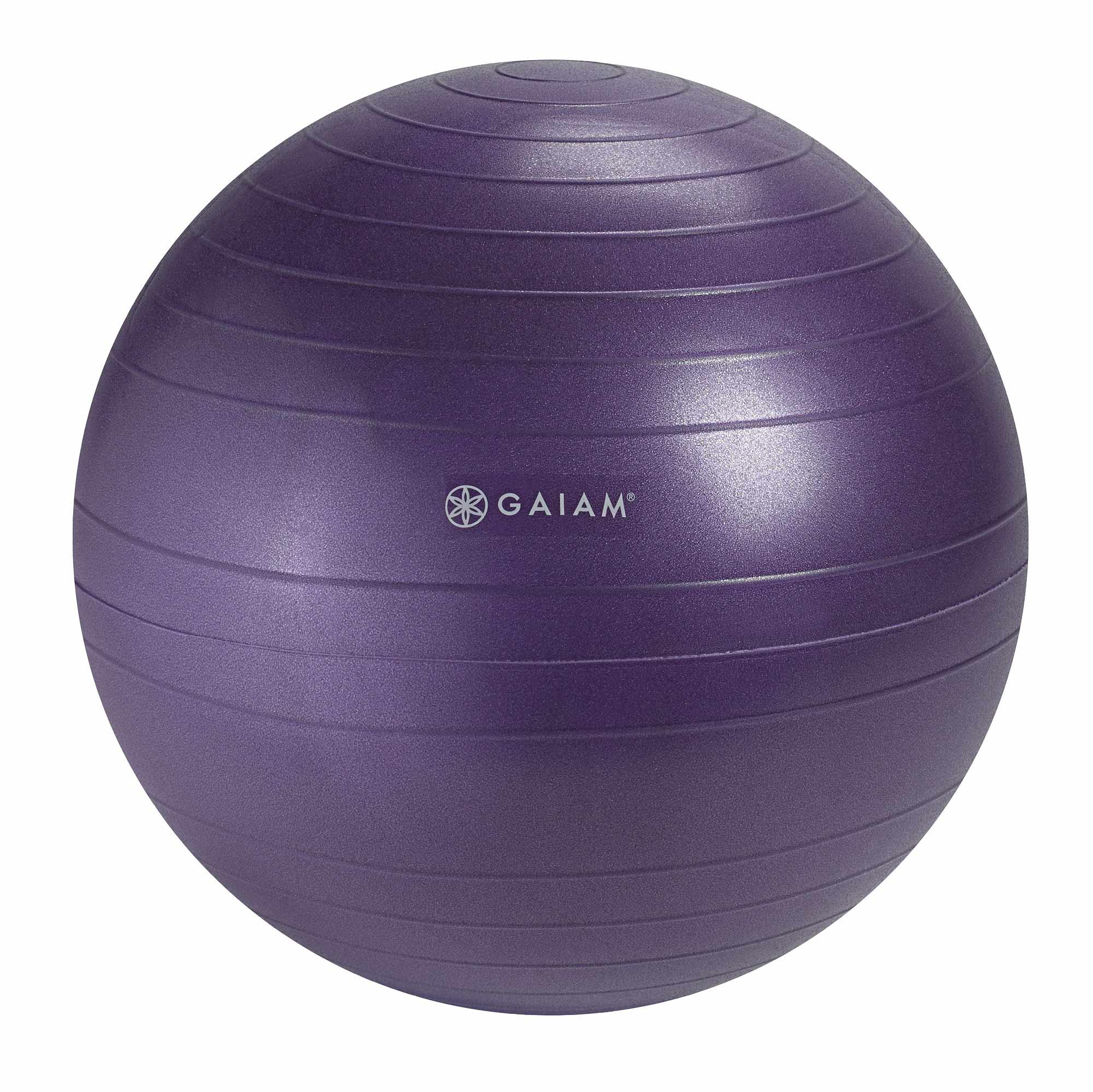 Amazon.com: Gaiam Classic Balance Ball Chair Ball