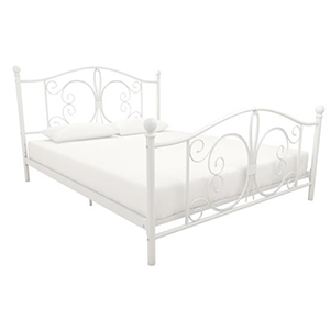 bed;metal bed;queen bed;full bed;full size bed;queen size bed;mattress;bed frame;canopy bed;daybed