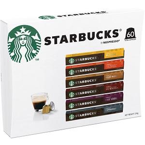 STARBUCKS BY NESPRESSO, STARBUCKS, NESPRESSO, COFFEE, POD, PODS, CAPSULE, COFFEE MACHINE, CAPSULES