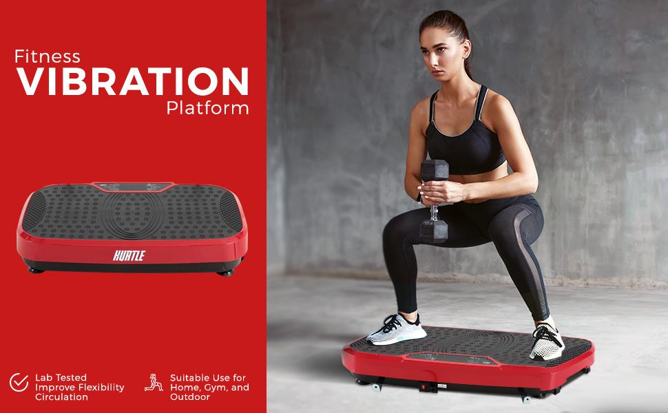 Fitness Vibration, Exercise Machine, Body Shake, Standing Vibration, Fitness Machine