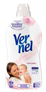 Vernel; ammorbidente, ammorbidente vernel ammorbidente, profumo, fragranza, ammorbidente per vestiti, detersivo per bucato.