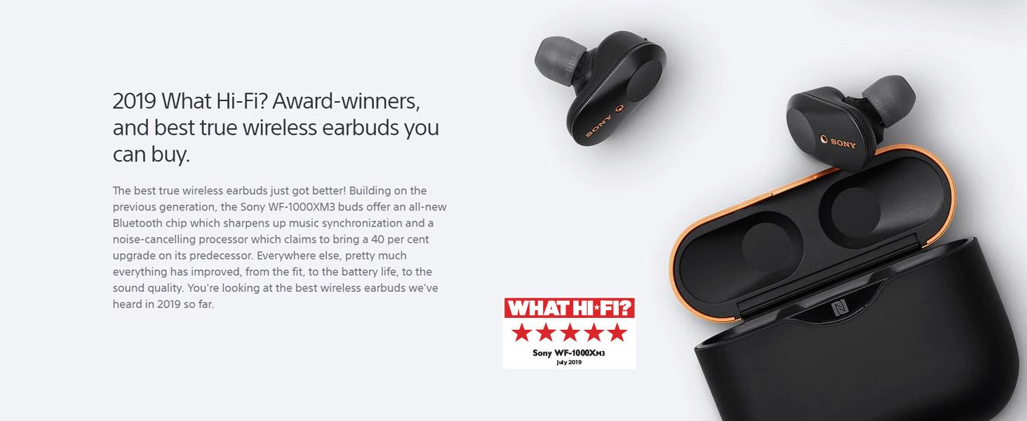 2019 What Hi-Fi? Award winners - best true wireless earbuds
