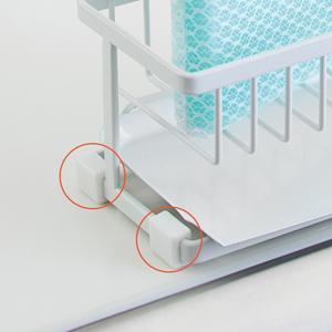 キッチン シンク 流し 皿 水切り ラック 収納 片付け 整理 整頓 ミニマリスト