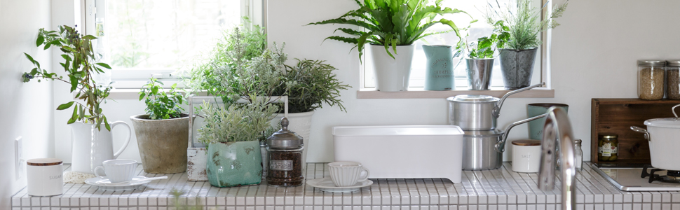 グッドデザイン 水切り かご 収納 ケユカ サラサ 無印 シンプル おしゃれ 機能美 機能的 使いやすい 洗いやすい 清潔