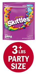 SKITTLES Wildberry Candy Party Size