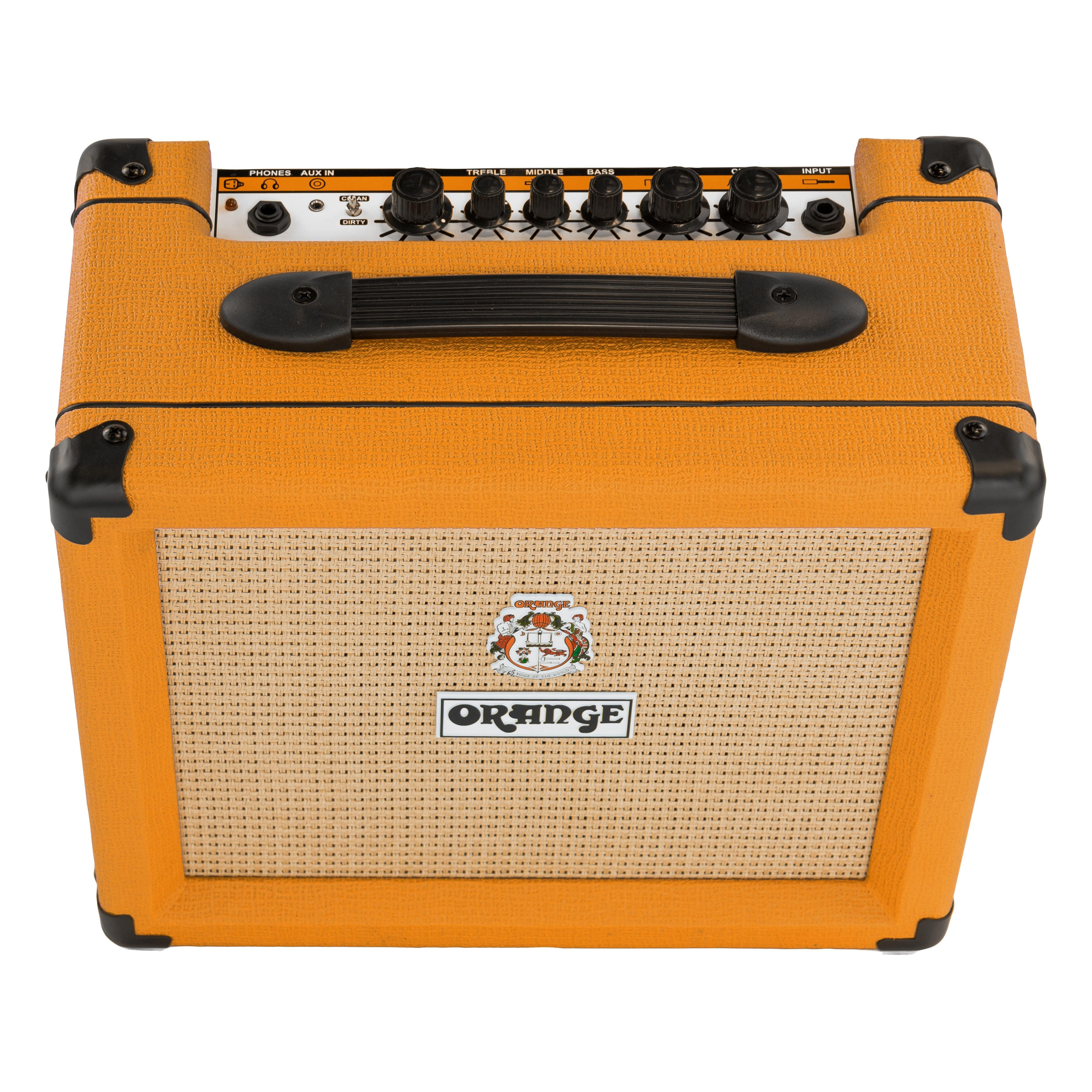 orange crush 20 twin channel 20 w guitar amplifier orange musical instruments. Black Bedroom Furniture Sets. Home Design Ideas