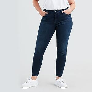 Levis Plus Size 310 Pl Shping Spr Skinny, Vaqueros skinny para Mujer