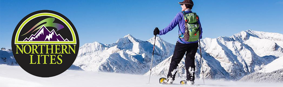 snow shoes, lightweight snow shoes, lightweight snowshoes, winter sports, easy to use snowshoes