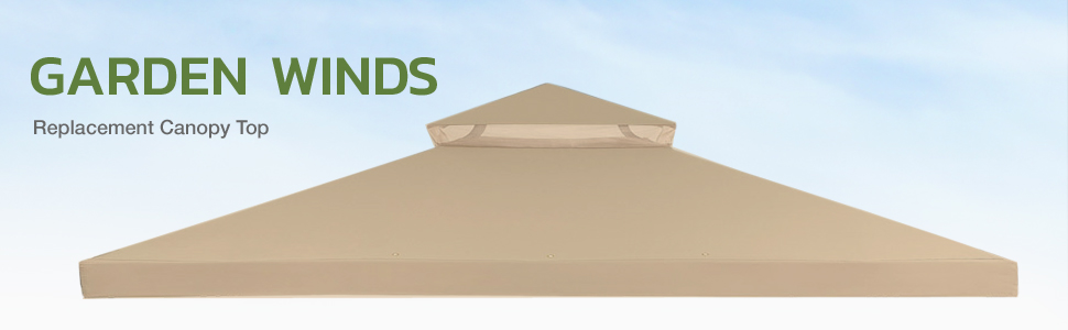 Garden Winds replacement gazebo canopy top cover canopy