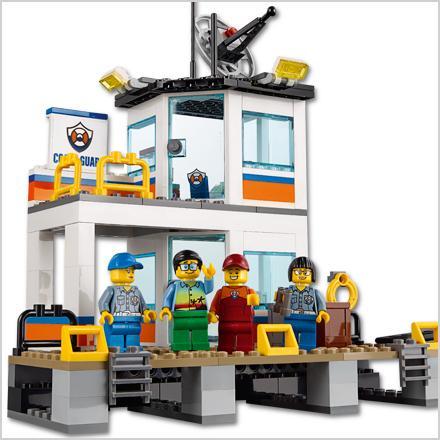 Lego City Coast Guard Coast Guard Headquarters Building Kit