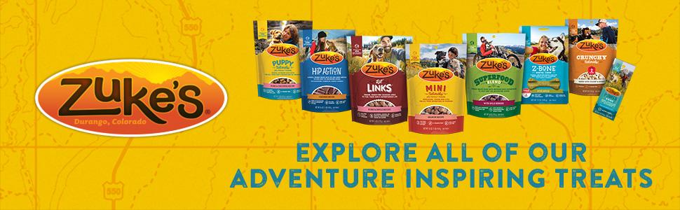 Explore all of our adventure inspiring treats