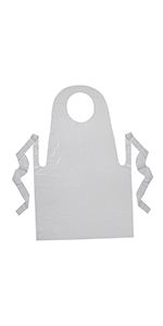 """Creativity Street Youth Disposable Aprons, 24"""" x 35"""""""