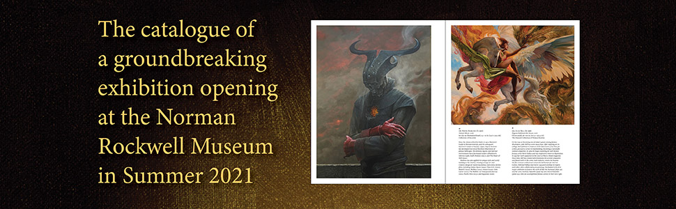 enchanted, fantasy art, pegasus, valkyrie, demon, minotaur