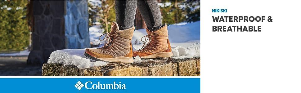 Columbia Women's Nikiski Waterproof Winter Boot