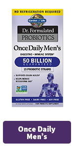 once daily mens probiotics